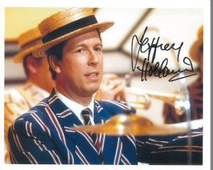 "Jeffrey Holland Hi De Hi star signed  10"" by 8"""